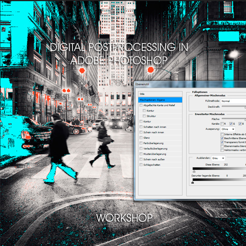Digital Postprocessing in Photoshop