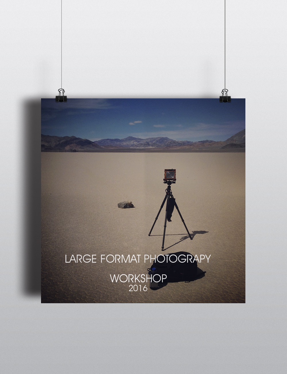 Large Formt Photography Workshop 2016